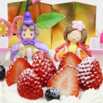 【ひな祭りケーキ ご予約承り中】※富士宮市は4月3日がひな祭りとなります
