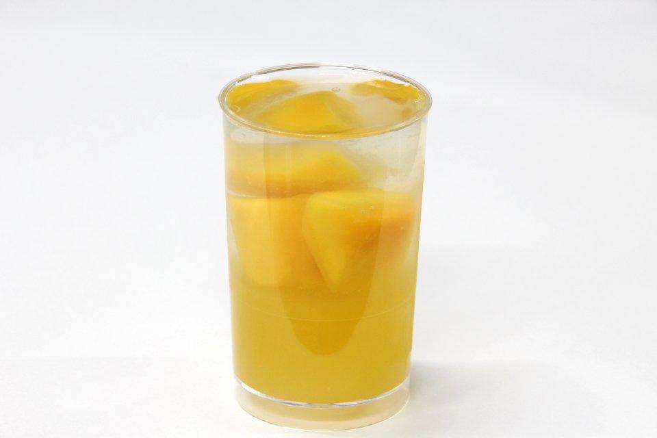 オレンジ・マンゴー 生ゼリー