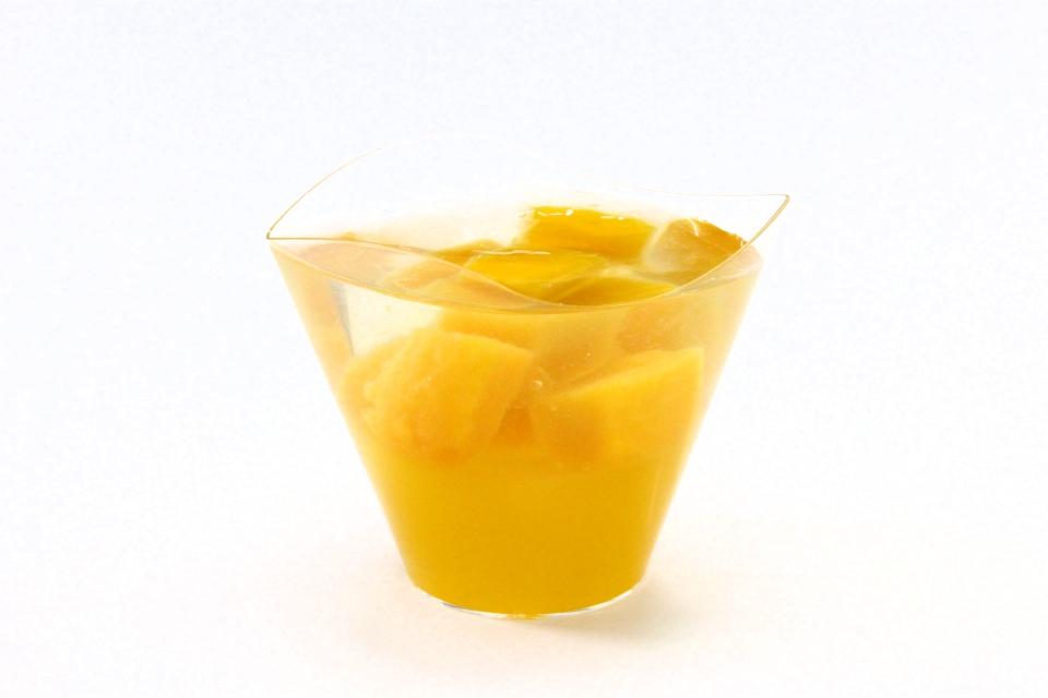 オレンジ・マンゴー・生ゼリー